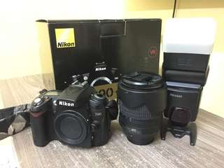 Nikon D90 18-105mm VR Kit with Speedlight