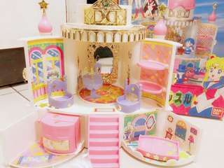 🚚 美少女戰士 中古 月光城堡 玩具