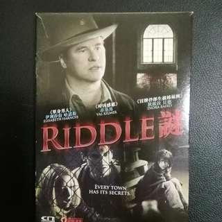Riddle 謎 DVD(包郵)