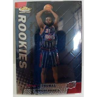 1999 Topps Finest NBA Rookie Cards #122 Kenny Thomas