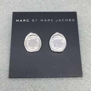 Marc Jacobs Sample Earrings 銀色印章耳環