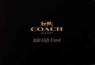 COACH $50 GIFT CARD