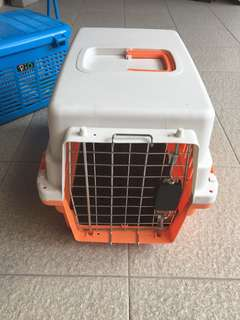 Pet carrier Large (murah merah)