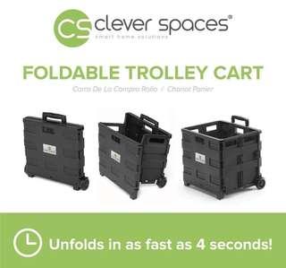 Heavy Duty Foldable Trolley Cart