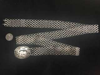 1930s Peranakan Silver Belt