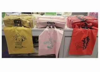 [ CLEARANCE SALE ] Ready Stock BT21 X Line Friends Eco Bag