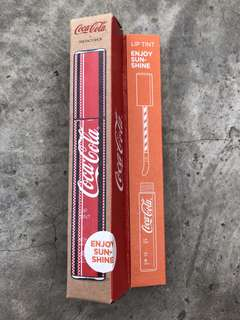 The Face Shop x Coca Cola Coke Lip Tint in Enjoy Sunshine