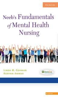 Neeb's Fundamentals of Mental Health Nursing – 4th edition