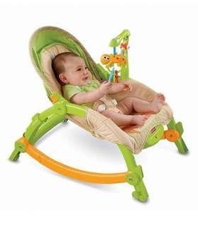 BN Fisher-Price Newborn-to-Toddler Portable Rocker