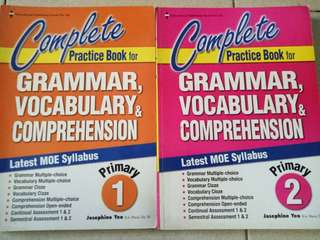 Complete Practice Book for Grammar, Vocabulary and Comprehension