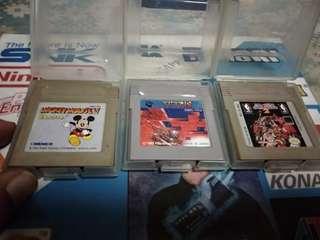3pcs original Nintendo Gameboy games