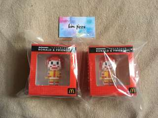 McDonald's Nanoblock Ronald & Friends