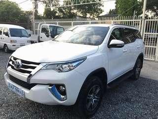 2017 Toyota Fortuner G Variant