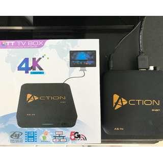 KODI OTT TV BOX 4K 64BIT ACTION AS-14