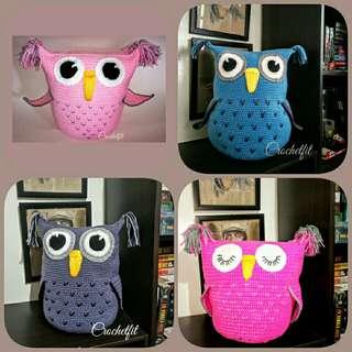 Handmade Crochet OWL