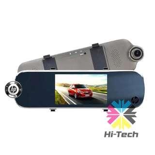 HP f770 倒後鏡前後雙錄高清行車記錄器-香港行貨 HP f770 Car Camcorder 1 WTY