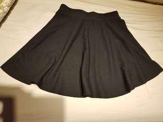 🚚 NET圓短裙(黑)
