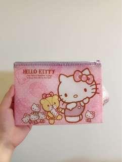 🚚 🌸日本帶回 kitty 防水拉鍊收納袋/收納包#畢業一百元出清