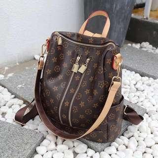 Lv Inspired Backpack