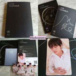 [RS] BTS Love Yourself - ' Tear ' Album ( U Version )