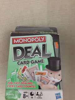 Monopoly Deal!