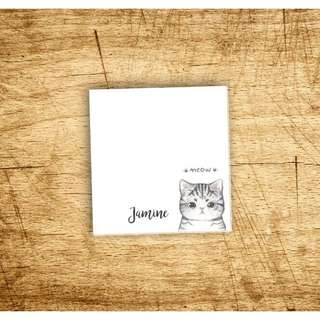 Personalized Cute Notepads