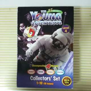 A Set Of 10 YOUNG SCIENTISTS  Books LEVEL 4