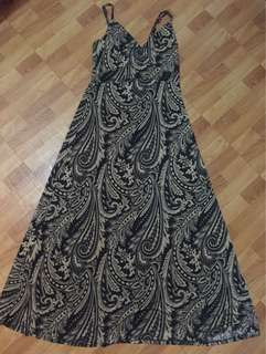 Repriced * Preloved maxi dress