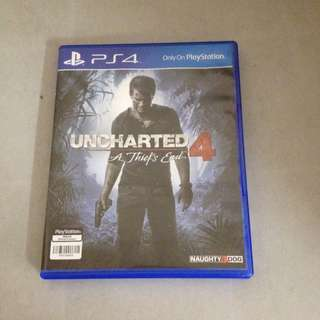 WTS Uncharted 4 PS4 game