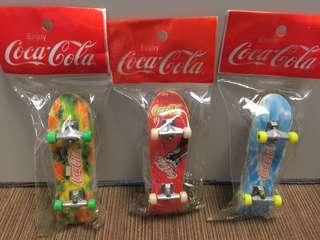 可口可樂 手指滑板