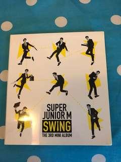 Super junior M swing 淨專