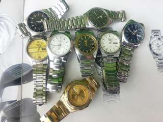Seiko 5 automatic 1500 each free ship