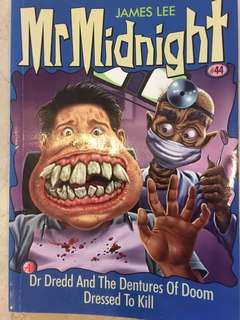 Mr Midnight story book