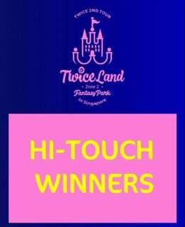 Twice Hi touch ticket!