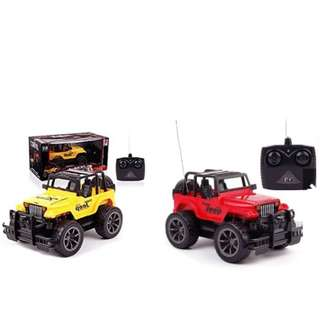 Quality Remote Control Jeep Car Baby Kids Learning Sports Boy Girl Toys
