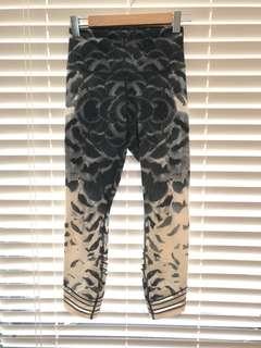 Lululemon high time pants wrap Mesh
