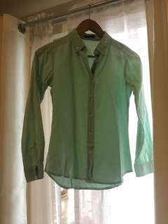 Mint Buttondown