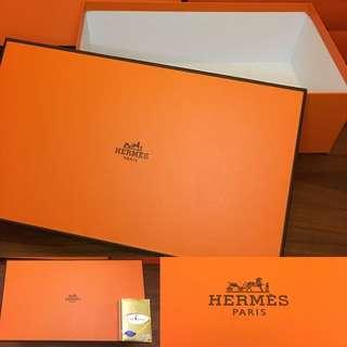 全新🆕Hermes Box 置物盒 硬淨鞋盒 shoes box