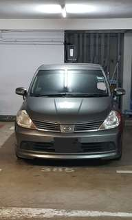 Nissan Latio 1.5 for rent