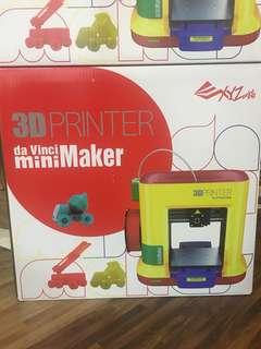 3D Printer da Vinci mini maker