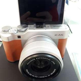 Kamera FujiFilm X-A5 Mirrorless FREE Instax Mini  (Kredit DP 0%)
