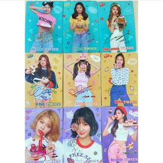 $20SET可議 Twice Yescard