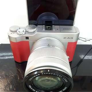 Kamera FujiFilm X-A3 FREE Polaroid dan Memory (Kredit MURAH)