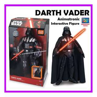 DARTH VADER Animatronic Interactive Figure - Deluxe Collector's Edition