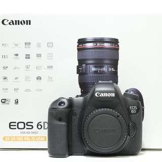Canon EOS 6D DSLR Body (SC 39K)