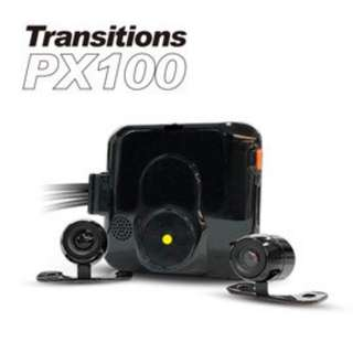 全視線 PX100 720P 雙鏡頭 防水防塵 高畫質機車 行車記錄器