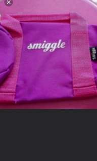 Brand New Smiggle Pink Pencil Case cum Pouch