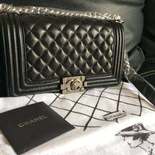 Chanel Boy Medium Lambskin
