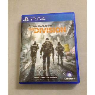 WTS Tom Clancy's The Division PS4 game