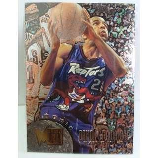 Rare 1995 Fleer Metal NBA Rookie Card #110 Damon Stoudamire